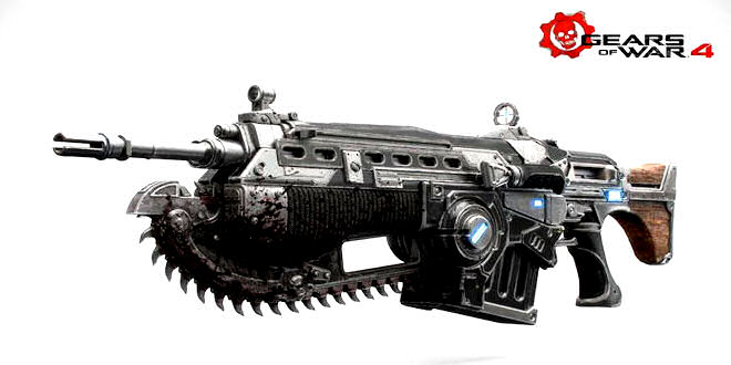 Gears of War Collectibles 1/1 Scale Weapon Replica's (preorder)